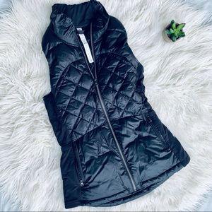 LULULEMON puffer vest in black full zip